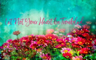 Let Not Your Heart be Troubled Image